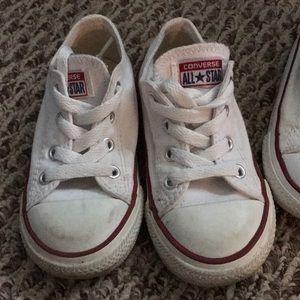 00cd08df1745 Converse Shoes - Little girls white converse